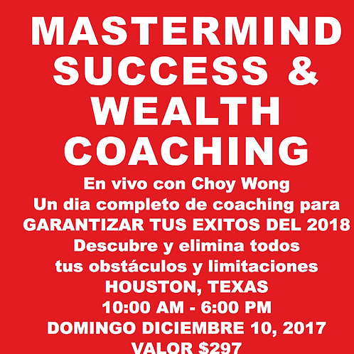 MASTERMIND SUCCESS & WEALTH COACHING