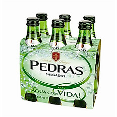 Pedras Sparkling Water Pack of 6