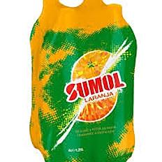 Sumol Orange/Passiofruit/Pineapple 1.5L Bottles Pack of 6
