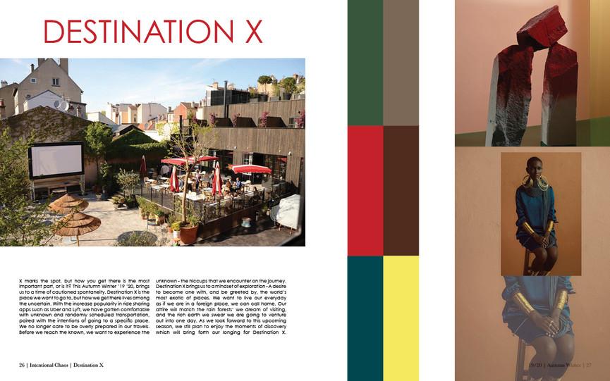 Destination X | Color + Mood Direction
