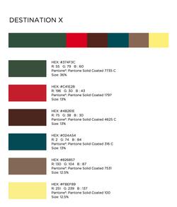 DESTINATION X Color Sources