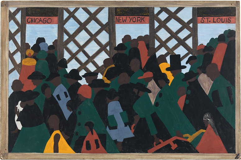 JACOB_LAWRENCE_MIGRATION_SERIES_PANEL_1_