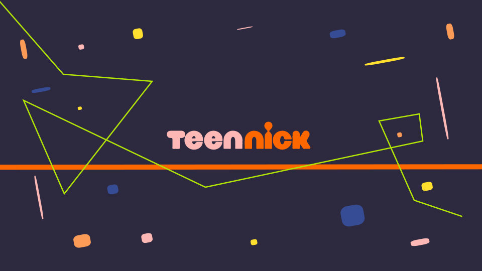 TeenNick Ident Style Frame