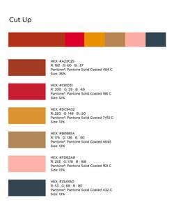 CUT UP Color Sources