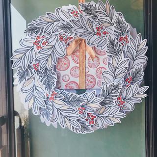Holiday Door Display