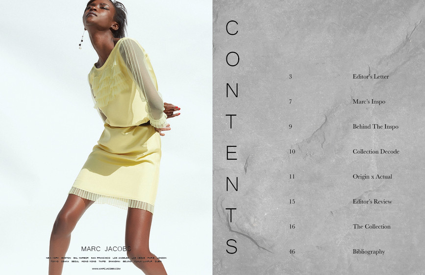 Mock Ad | Table of Contents