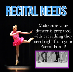 Purchase all Recital needs