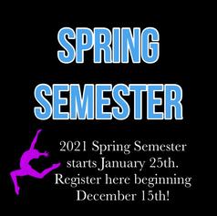 Register for Spring