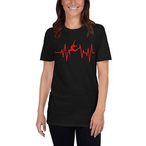 Unisex Adult Heartbeat Tee