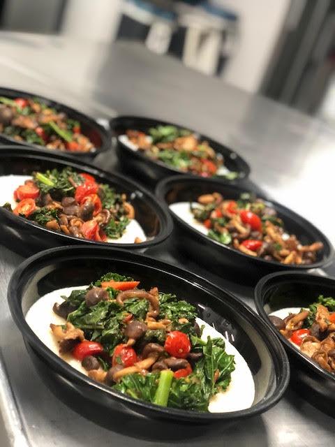 Sauteed fresh kale, mushrooms, cherry to