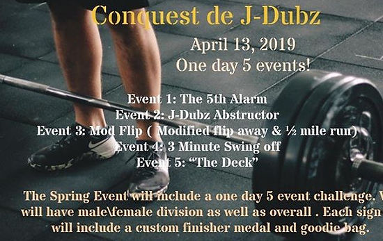 The Third Bi-Annual Conquest de J-Dubz!!