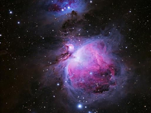 Second shot, breathtaking orion nebula - M42