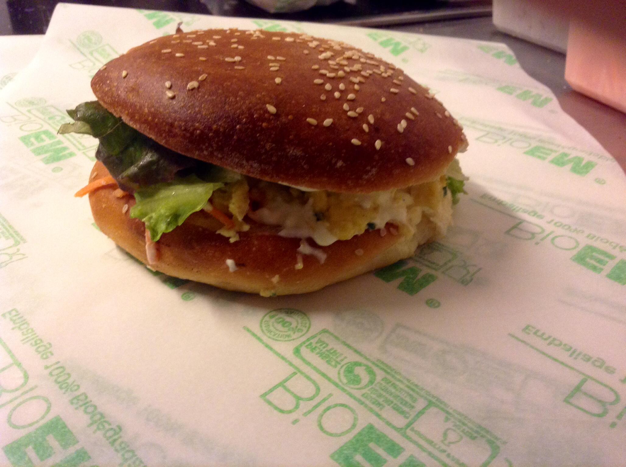 Burger veggy
