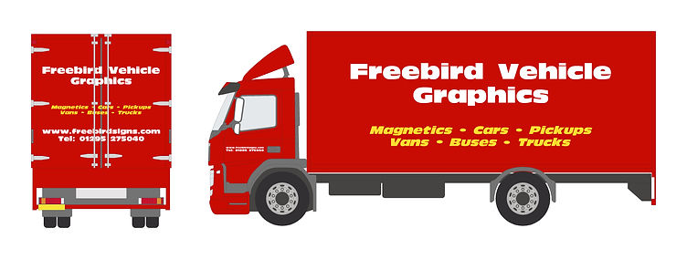 Truck Signwriting | Banbury | Freebird Sign Services