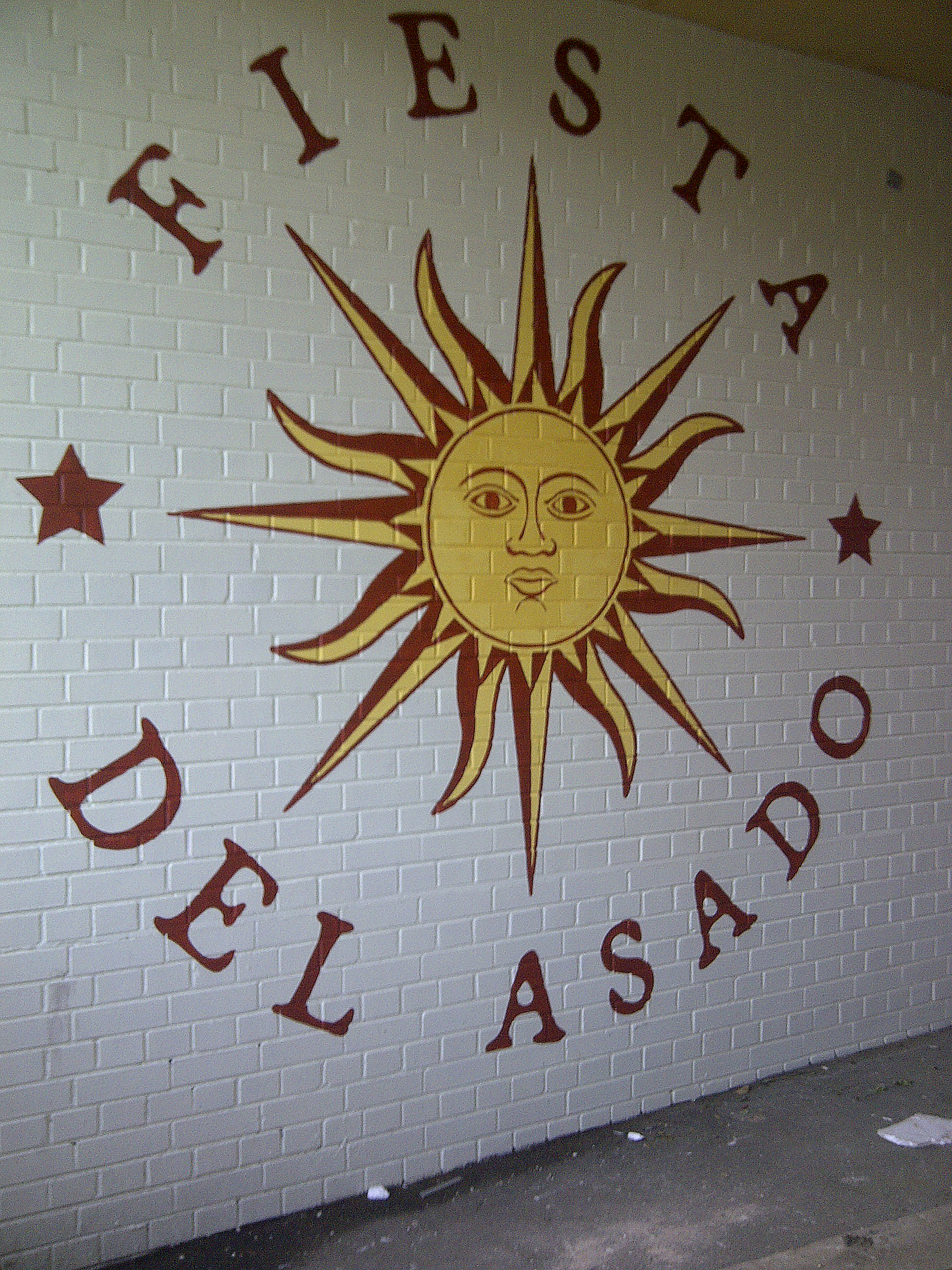 Outdoor Mural Signwriting