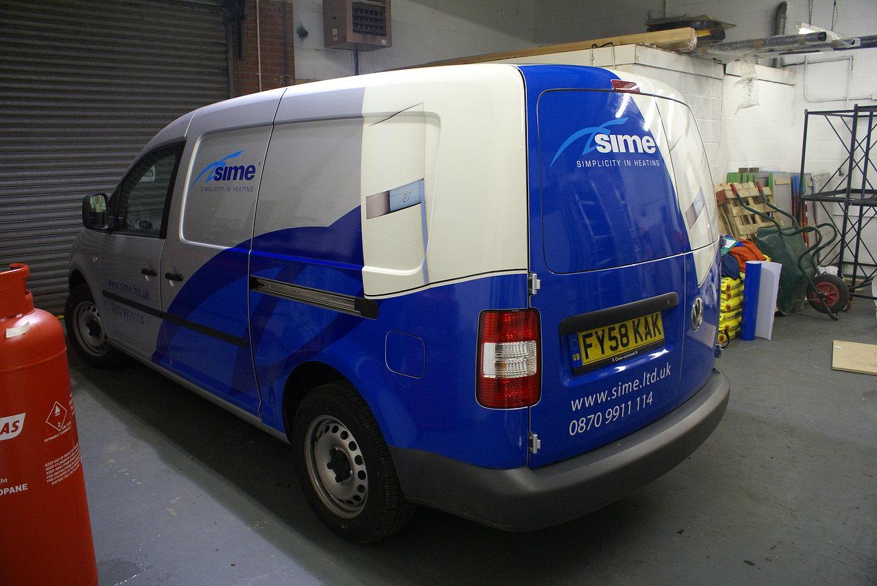 Small Van Graphics