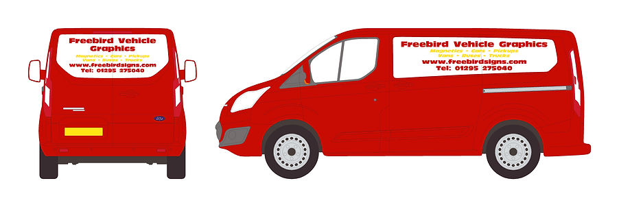 Van Magnetics Signwriting | Banbury | Freebird Sign Services