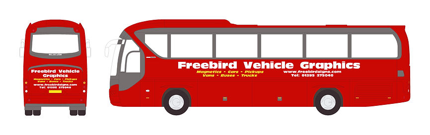 Bus Signwriting | Banbury | Freebird Sign Services
