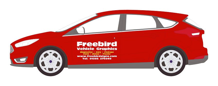 Car Signwriting | Banbury | Freebird Sign Services
