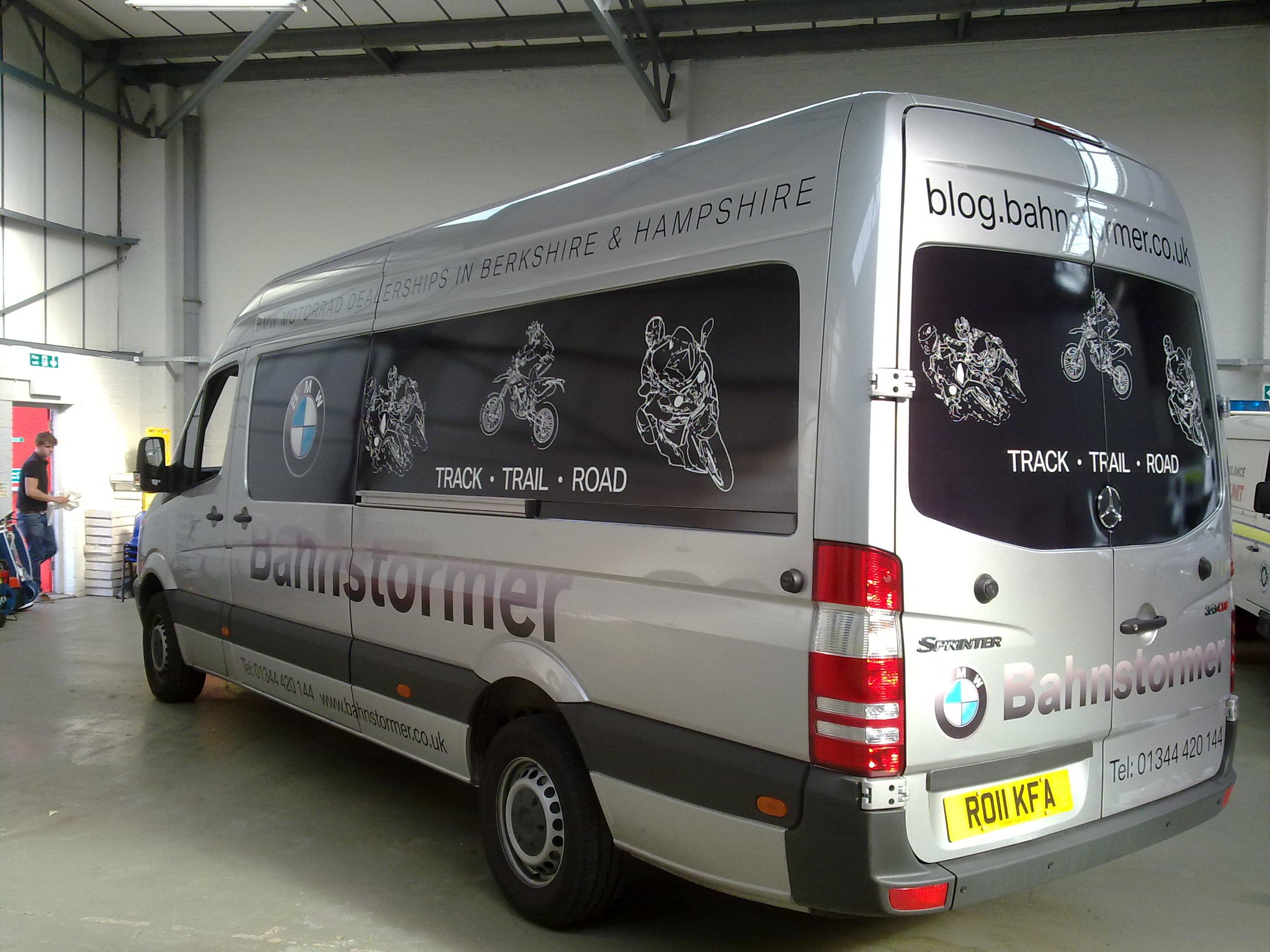 Large Van Graphics