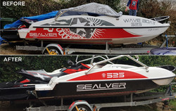 Speedboat Graphics