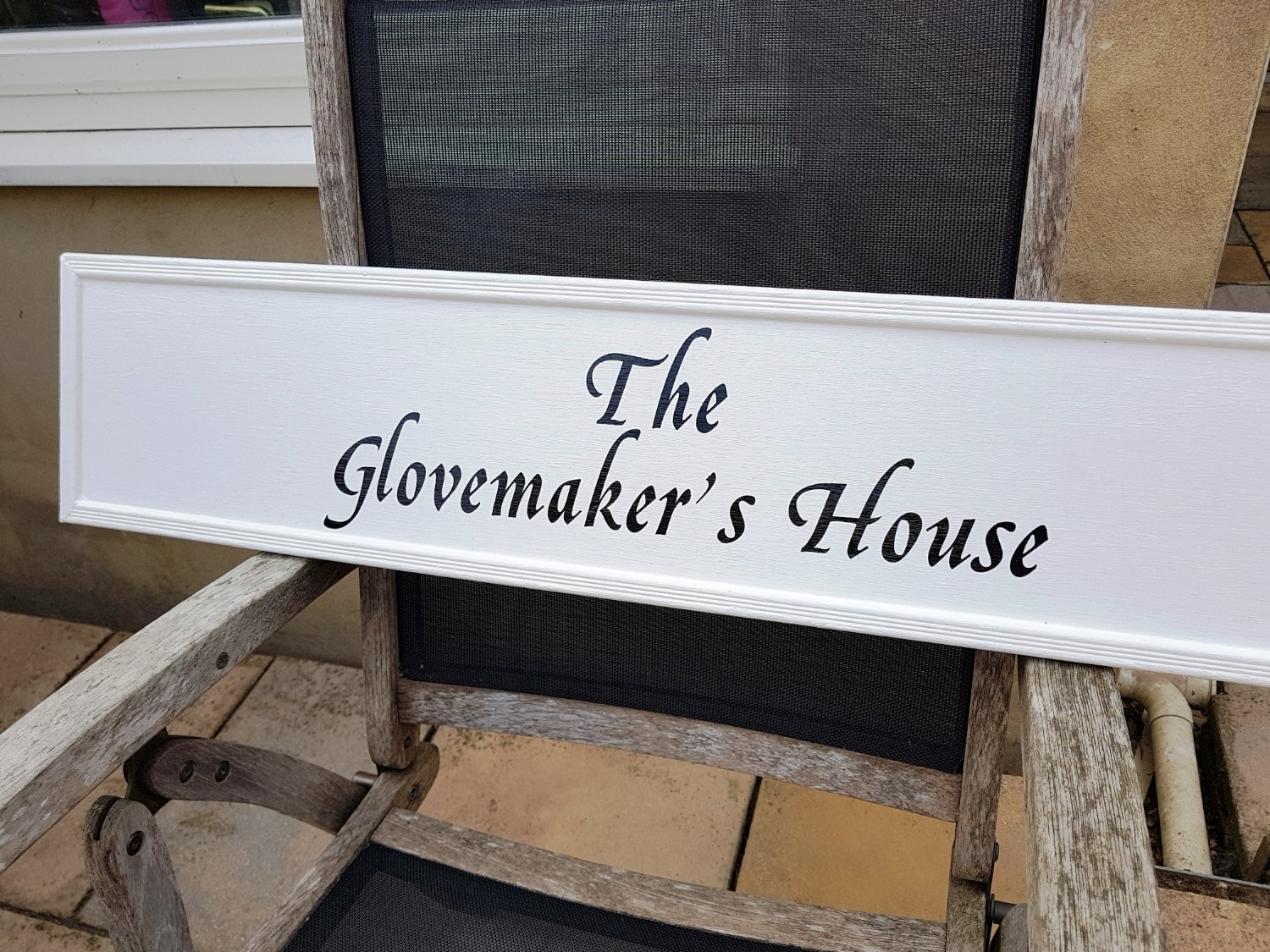 Traditionally Signwritten House Sign