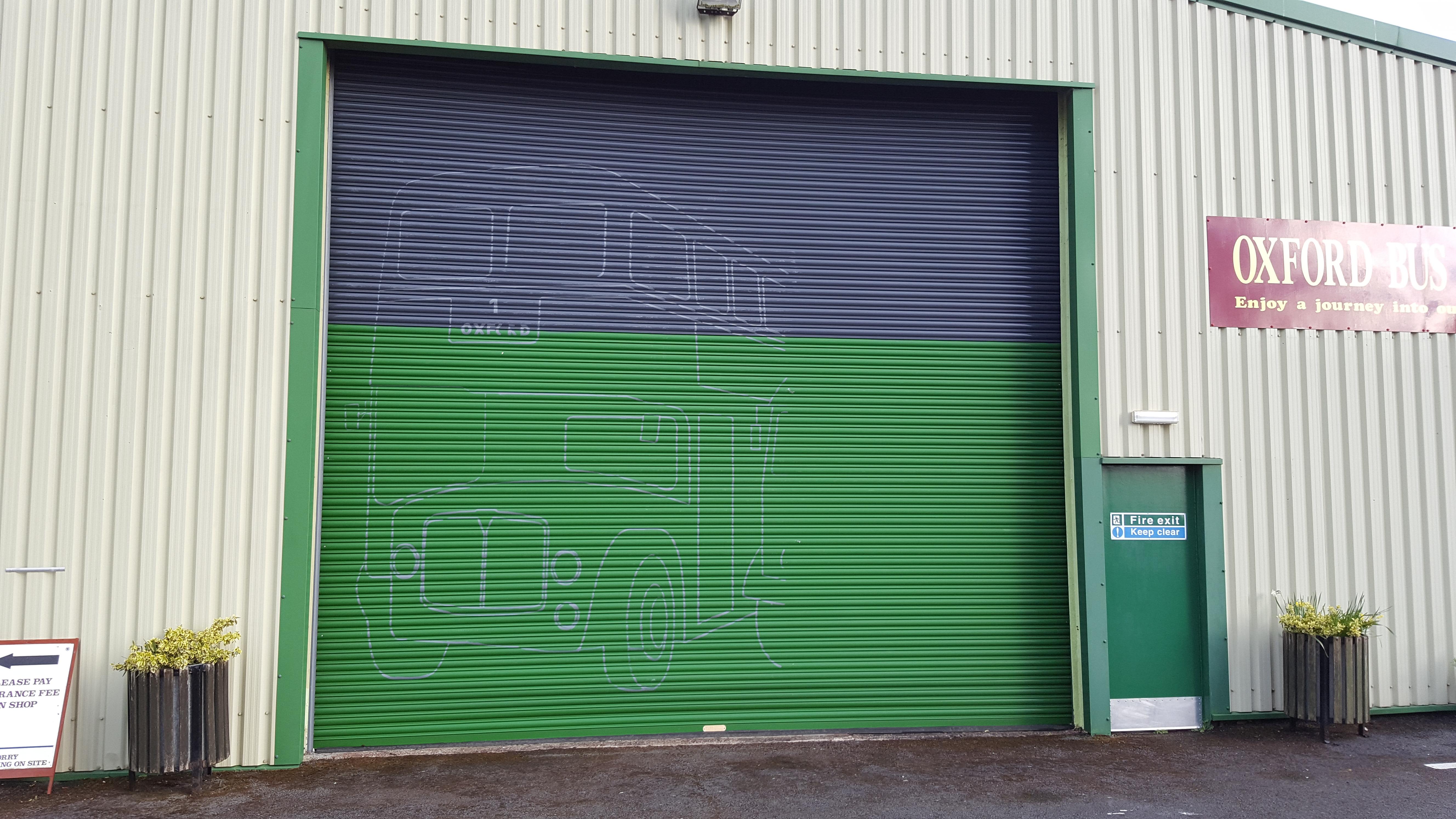 Traditionally Signwritten Shutters