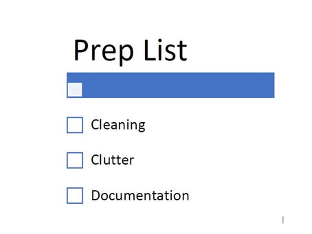 Homeowner Preparation for Appraiser Appointments