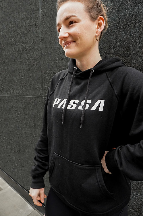 PASSA Women's Oversized Hooded Top