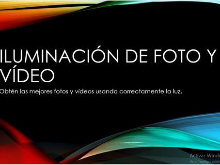 Cursos de Cuarentena I: Iluminación para fotos y vídeo en casa