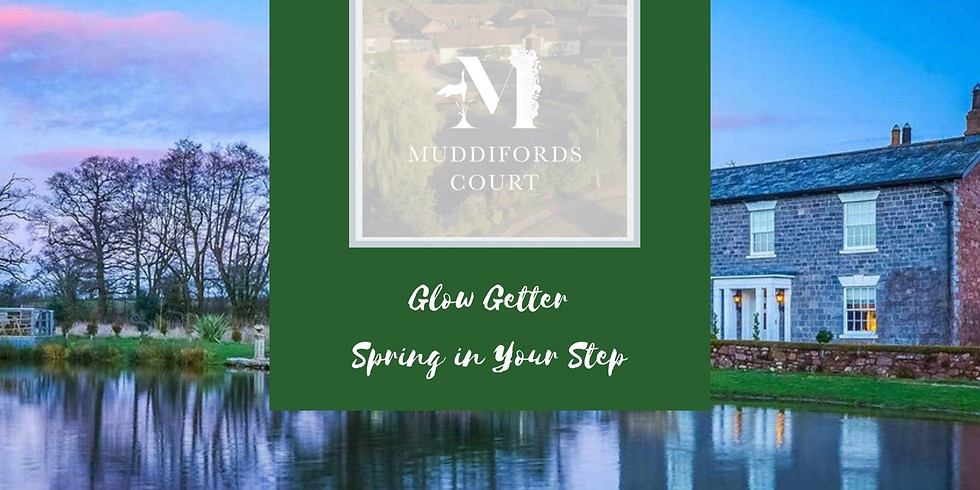 Glow Getter - Spring in Your Step