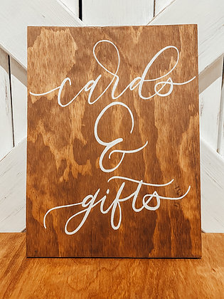 Rustic, Pre-set Wedding Signs