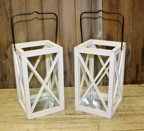 White Farmhouse Lanterns