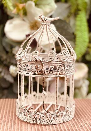 Vintage Bird Cage - Medium