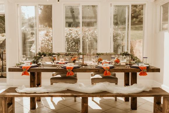 8' Farmhouse Table