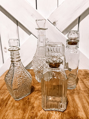 Decanter Set of 4