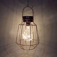 Copper Cage Lantern