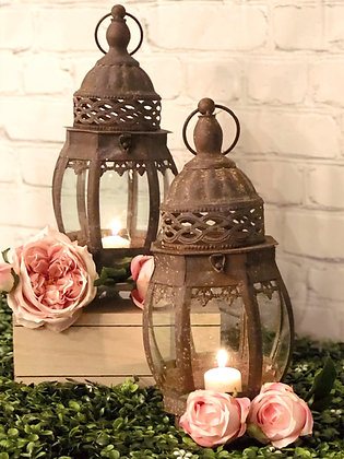 Vintage Victorian Lantern Set
