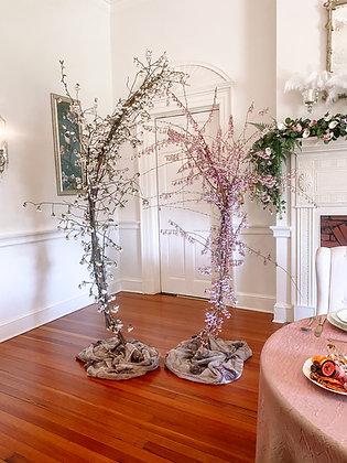 Crescent Floral Stand Set