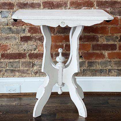 Small Vintage Cream Table