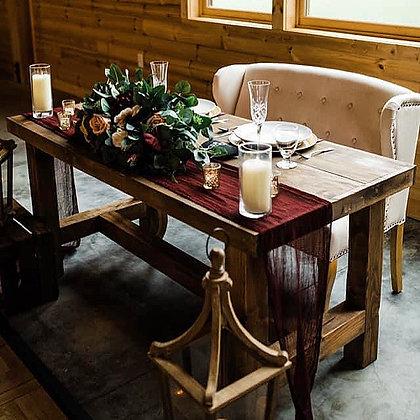 5' Farmhouse Sweetheart Table