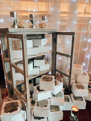 Rustic Glass Display Case