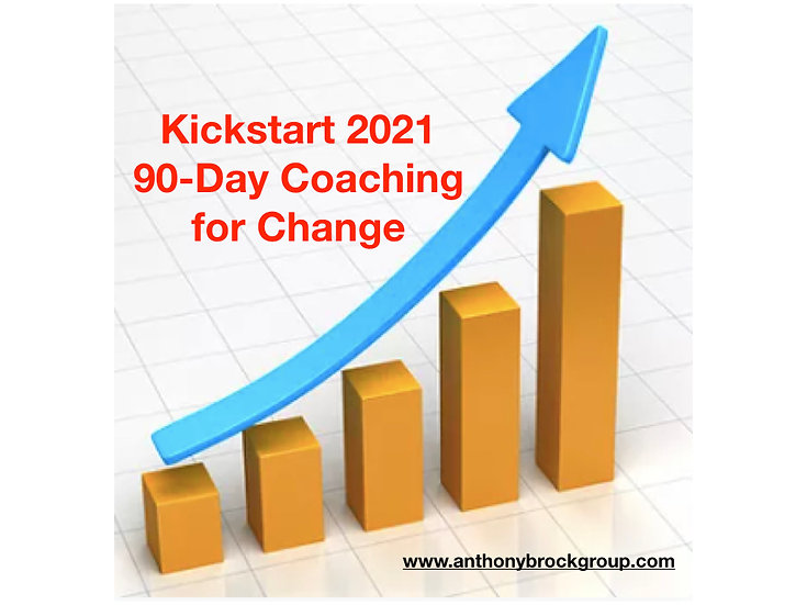 Kickstart 2021: 90-day Coaching for Change
