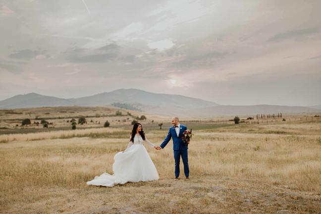 Rugged Horizon St. Ignatius Wedding | Montana Wedding Photographer | Infinite Photography and Film