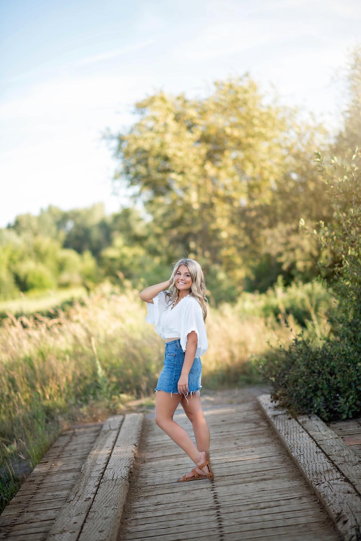 McKenna Round | Loyola Sacred Heart High School | Missoula Senior Photographer | Infinite Photography Missoula