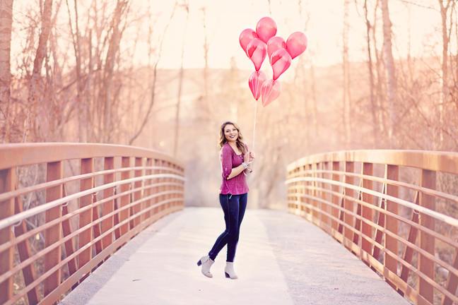 Be The Sunshine, And Lift Everyone Up Like A Balloon | Missoula Senior Portrait Photographer