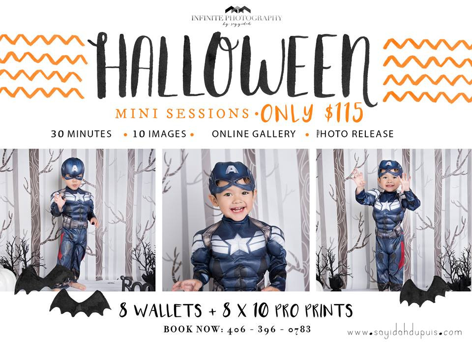 Best Missoula Photographer - Photographers - Infinite Photography - Halloween - Seniors - Newborn - Kids - Children - Mini Session - Pictures