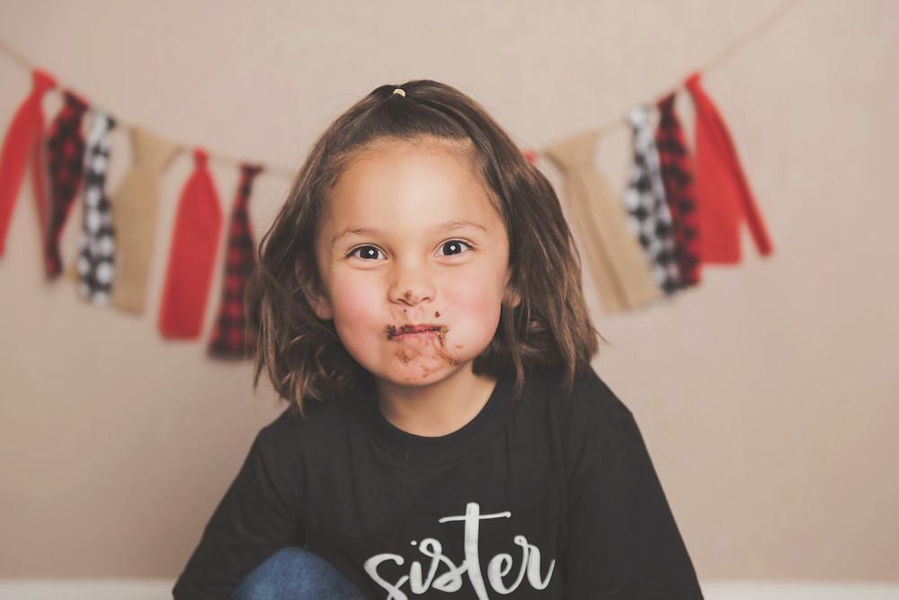Missoula Rustic Cake Smash Photography | Wild One | Infinite Photography Missoula