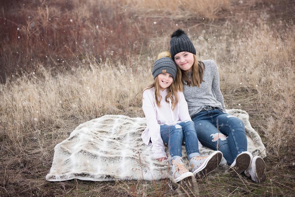 Missoula - Montana Photographer - Photographers - Infinite Photography Missoula - Family - National Bison Range - Winter