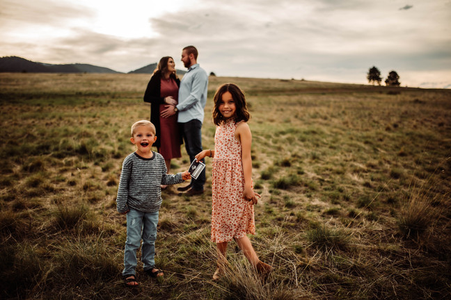 Missoula Baby Announcement   Infinite Photography and Film